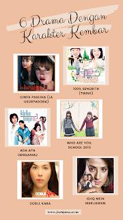 6 drama karakter kembar dari berbagai negara