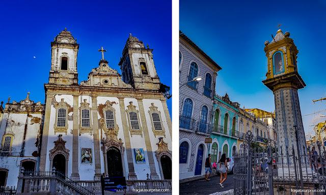 Salvador: Igreja do Carmo e Cruz do Pascoal