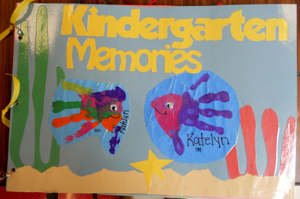 Kindergarten Memory Book Cover