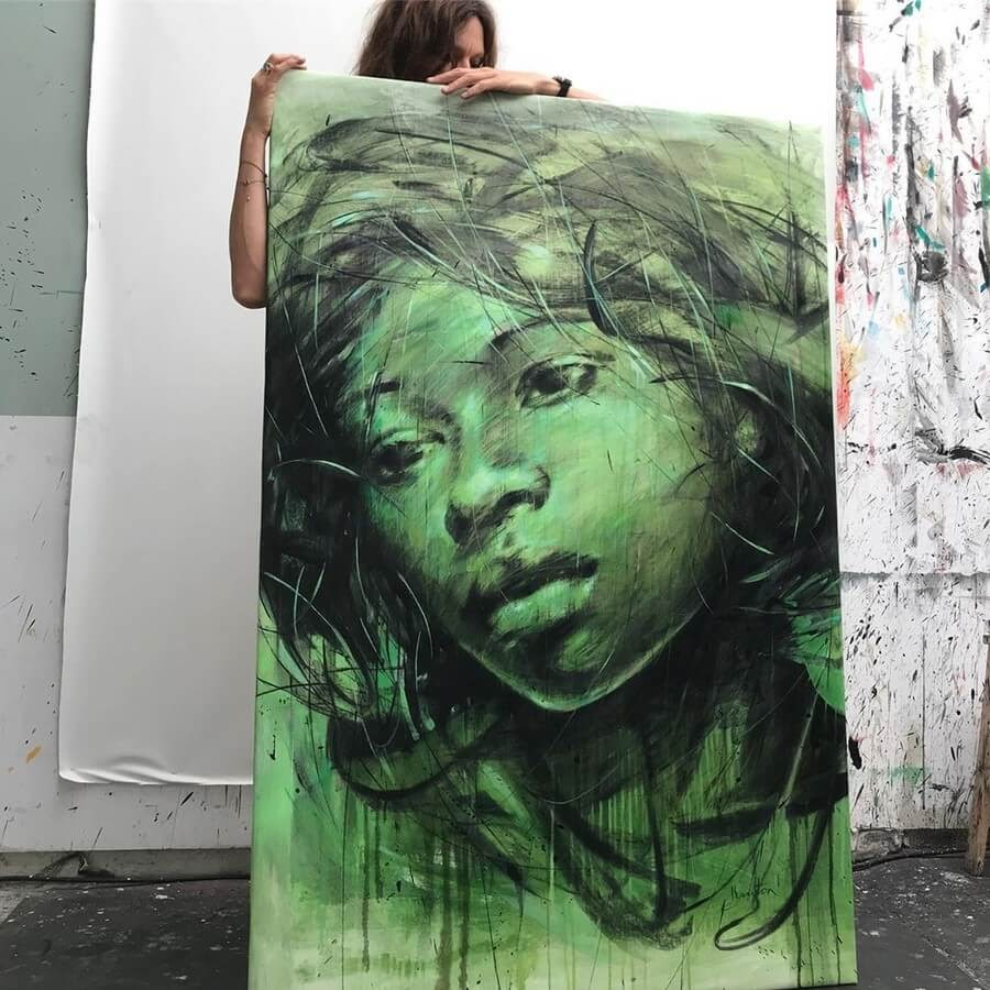 05-Large-Format-Oil-Paintings-and-Charcoal-Drawings-www-designstack-co