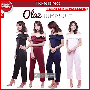 BAMFGW167 Olaz Jumpsuit Celana Wanita PROMO BMG