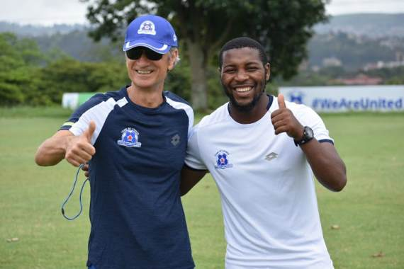 Maritzburg United assistant coach Mabhuti Khenyeza