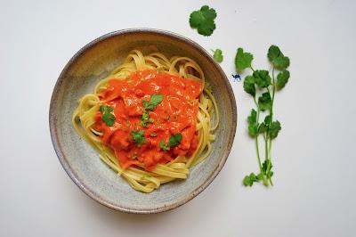 Le Chameau Bleu - Recette rapide Sauce CoCo Tomate Gingembre -