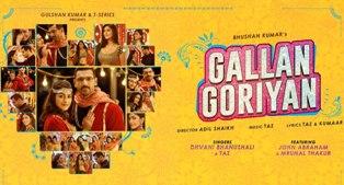 Gallan Goriyan Lyrics - Dhvani Bhanushali & Taz