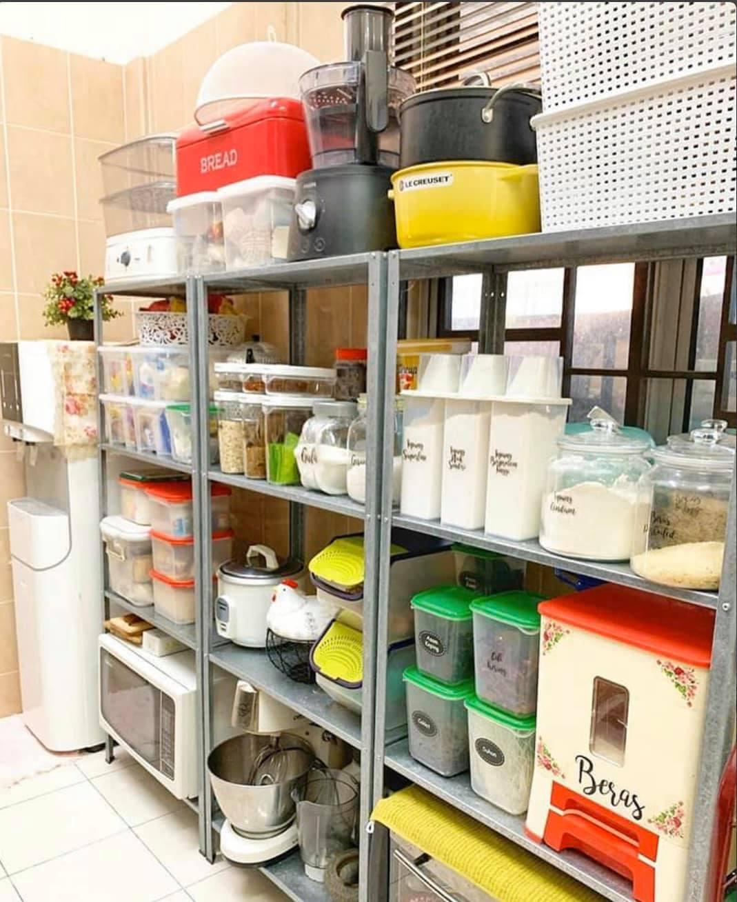 Koleksi Deko Sudut Ruang Dapur - Susun Atur Rempah Ratus