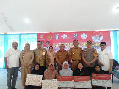 Kabupaten Pringsewu Launcing Program Bantuan Pangan Non Tunai (BPNT)