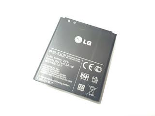 Baterai Hape LG BL-53QH BL53QH Optimus L9 P760 P768 P769 P870 P875 P880 Original 100%