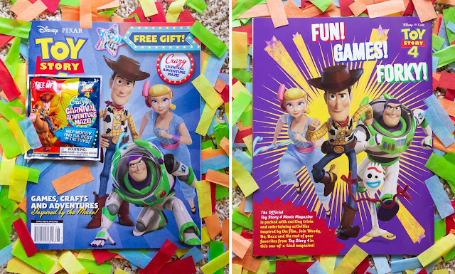 Toy Story 4 Movie Magazine Activity Book