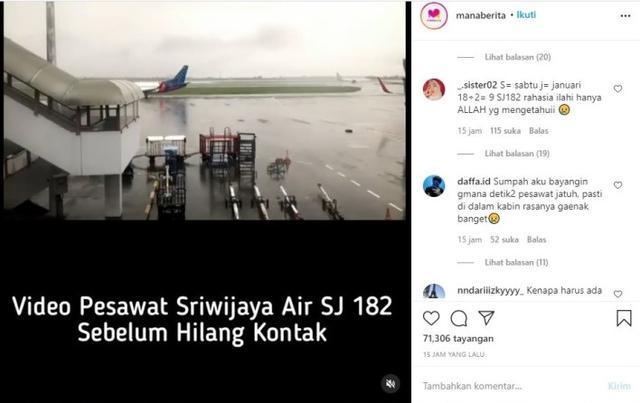 Heboh SJ 182 Jadi Sorotan Netizen, Ilmu Cocokologi Dibantah Pakai Rahasia Ilahi -  S =Sabtu J= Januari 182?