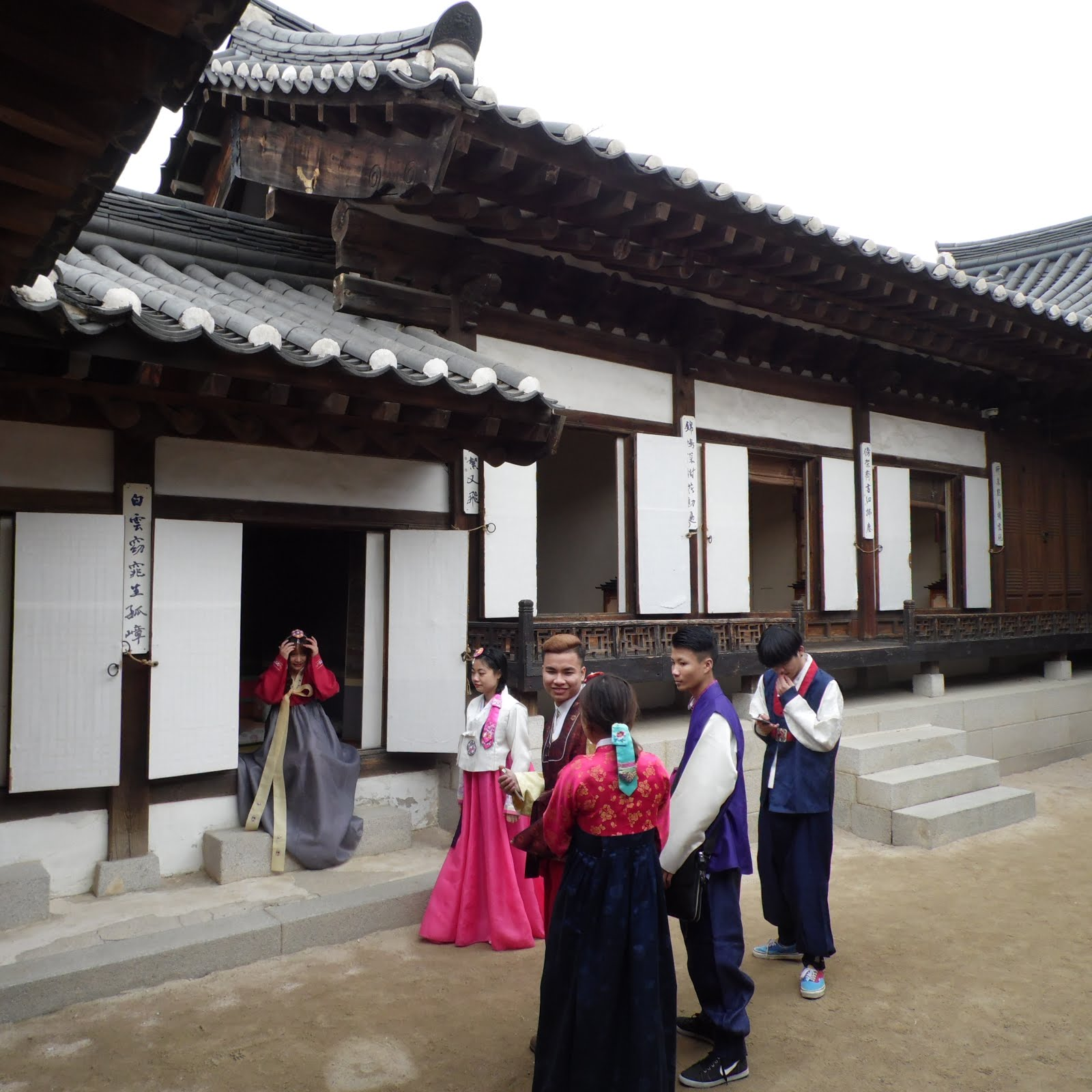 Namsangool Hanok Village