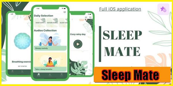 Sleep Mate - تطبيق iOS كامل