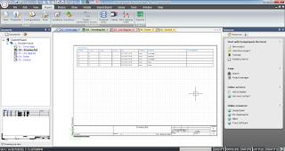 Screenshot 2 : DesignSpark Electrical Software Menggambar Atau Merancang Kelistrikan