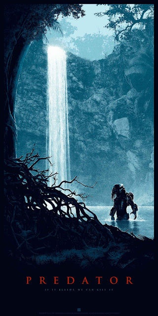 "Predator ""Thrill of the Hunt"" Regular Edition Screen Print by Matt Ferguson & Bottleneck Gallery"
