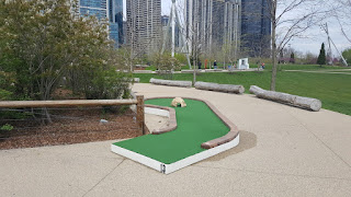 City Mini Golf course at Chicago's Maggie Daley Park