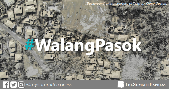 #WalangPasok: Class suspensions on Monday, January 20, 2020