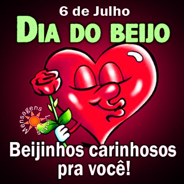 Dia do Beijo é 6 de Julho