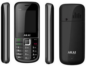 Triple-SIM GSM phone launched by Japanese AKAI in India