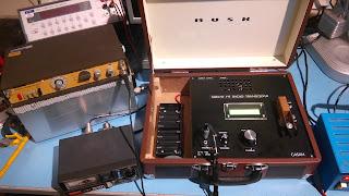 UBITX Tx Frequency Response Test Setup