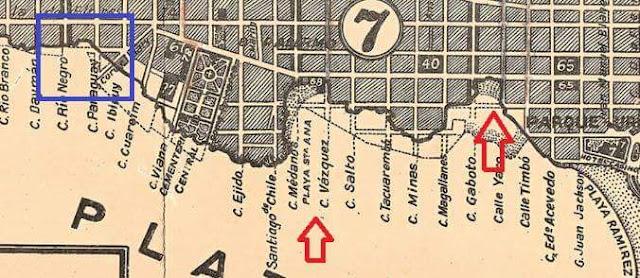 Playas Santa Ana y San Patricio 1928