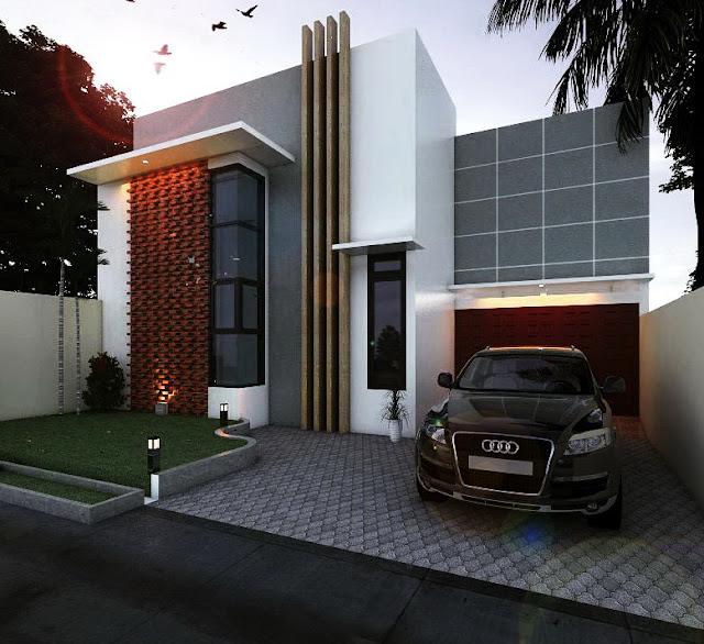 kontraktor rumah murah dengan desain arsitek rumah menjadi minimalis