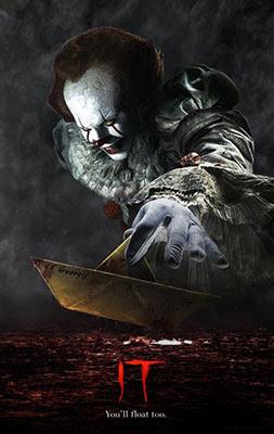 IT, poster promocional de esta adaptación de la novela de Stephen King