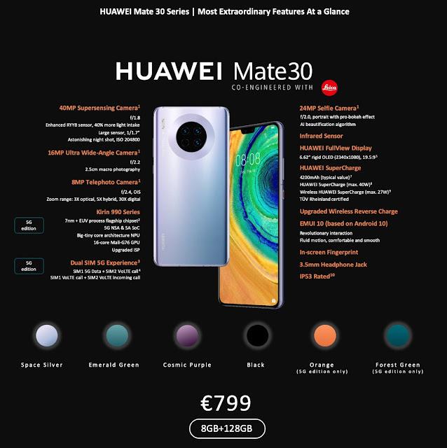 @HuaweiZA Rethinks the #Smartphone with Ground-Breaking #HuaweiMate30Series #RethinkPossibilities