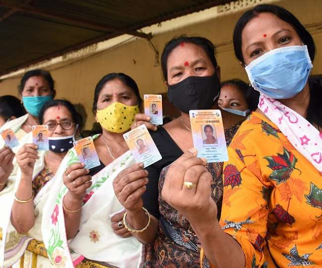 Assam Chunav 2021 Voting LIVE: