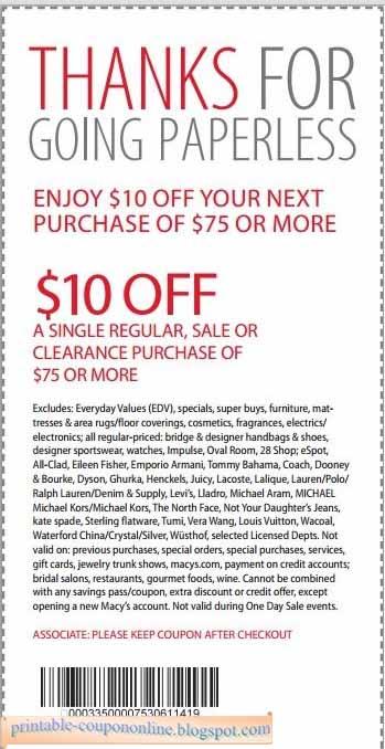 Macys online coupons september 2018