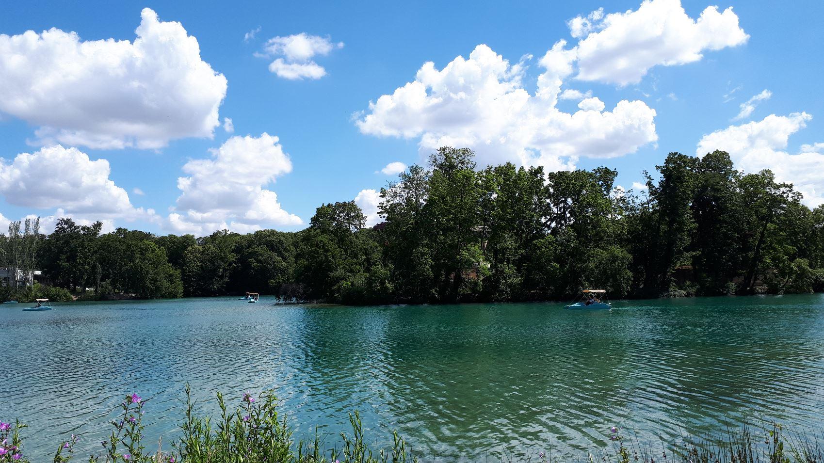 Parc de la tête d'or et son lac
