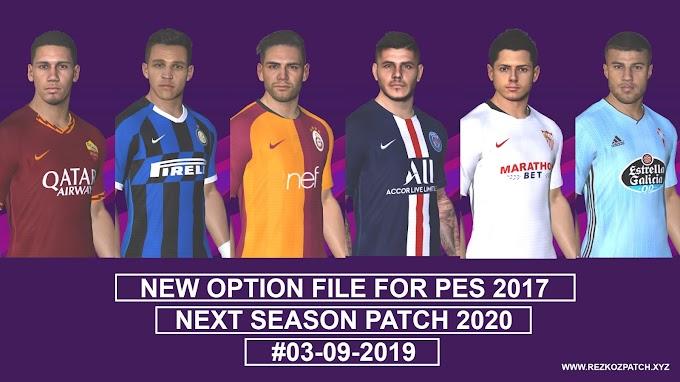 PES 2017 Smoke Patch V17 1 0 AIO Season 2019-2020