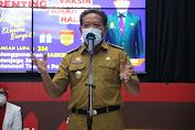 Bupati Sanggau Launching pencanangan pelaksanaan vaksinasi Covid-19