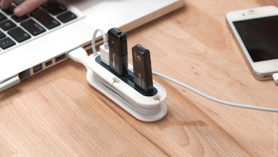 Clever Cable Organizers and Cool Cable Holder Designs (15) 9
