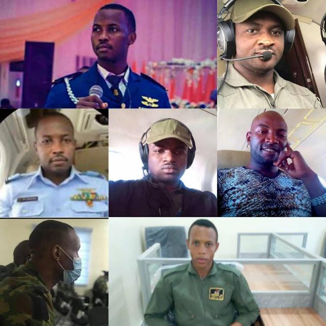 Full names of Nigerian Air Force plane crash Victims