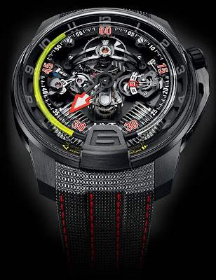 HYT H2 Aviator watch
