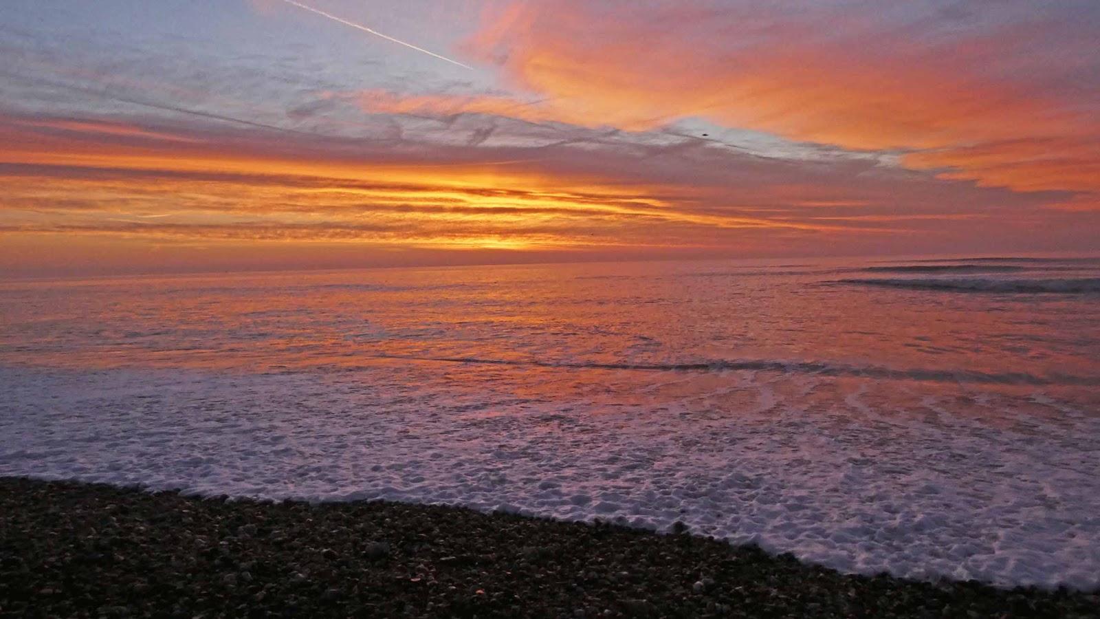 Pagham Beach Sunrise Over The Beach