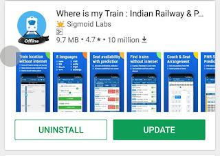 Install  application