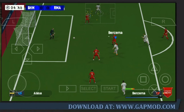 Download PES 2021 Lite PPSSPP Master League