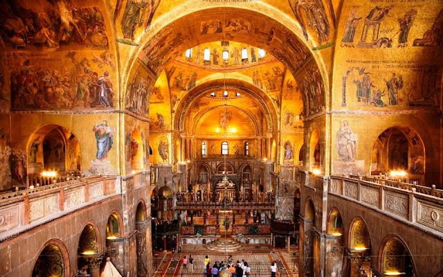 Basílica de São Marcos na Itália