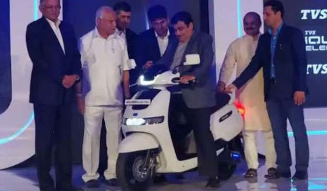 TVS has launch iQube electric scooter.