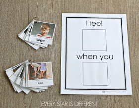 I feel... when you... Chart and Cards