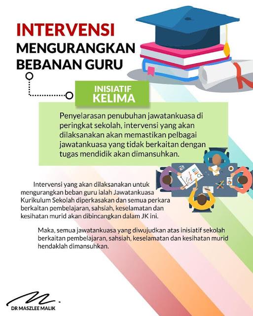 49937910 10156366150933285 3009564239498051584 n - Lima inisiatif, sembilan intervensi ringan beban guru di sekolah