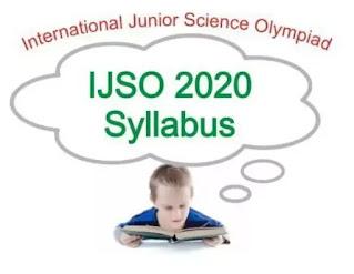 IJSO 2020 Syllabus