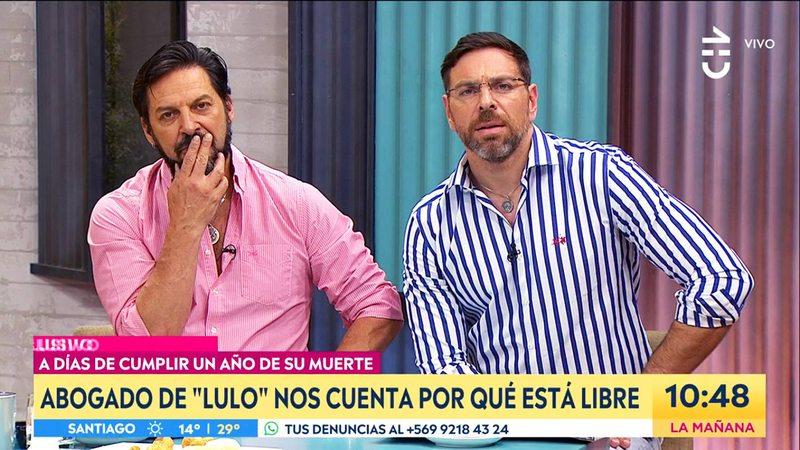 José Antonio Neme explica su pituto en el matinal de Chilevisión