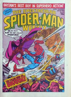 Spectacular Spider-Man #361, Swarm