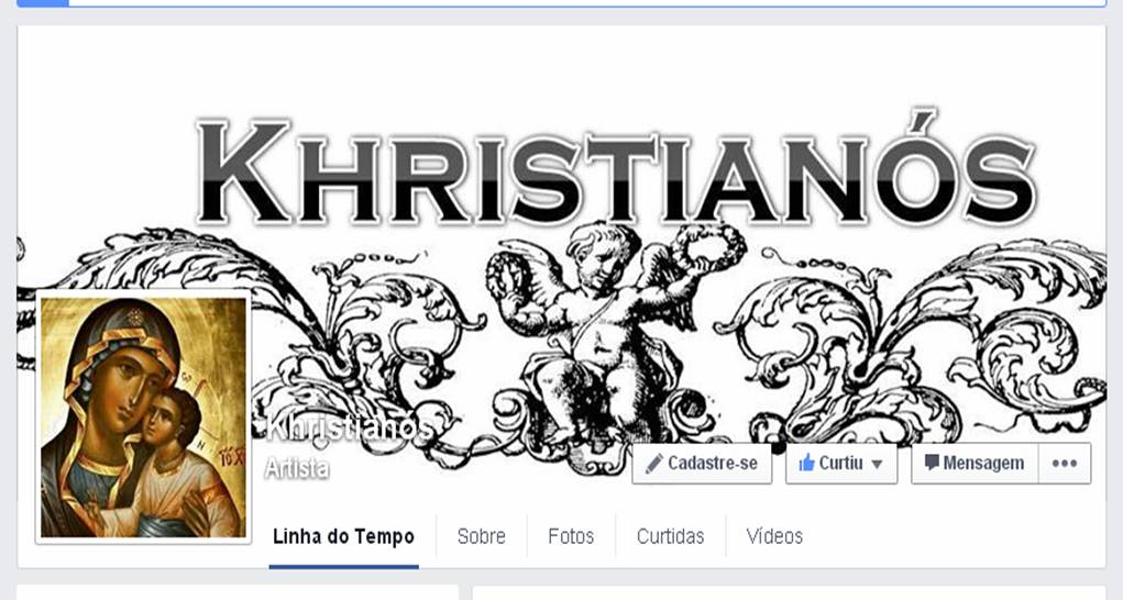 Curta a Página no facebook