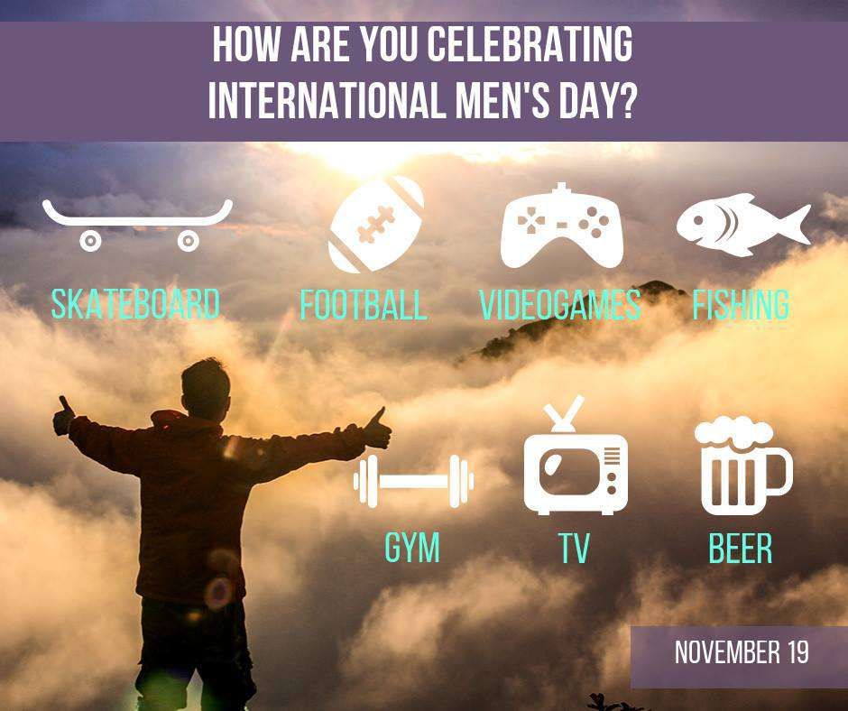 International Men's Day Wishes Awesome Picture