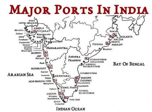 Major Sea Ports in India