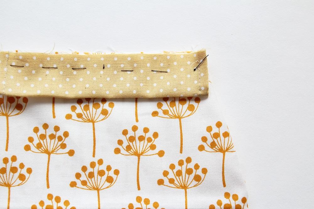 Cute DIY Drawstring Bag Tutorial.