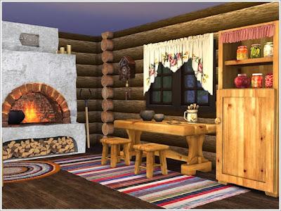 Русский стиль — интерьеры, мебель и декор для Sims 4 со ссылкой для скачивания