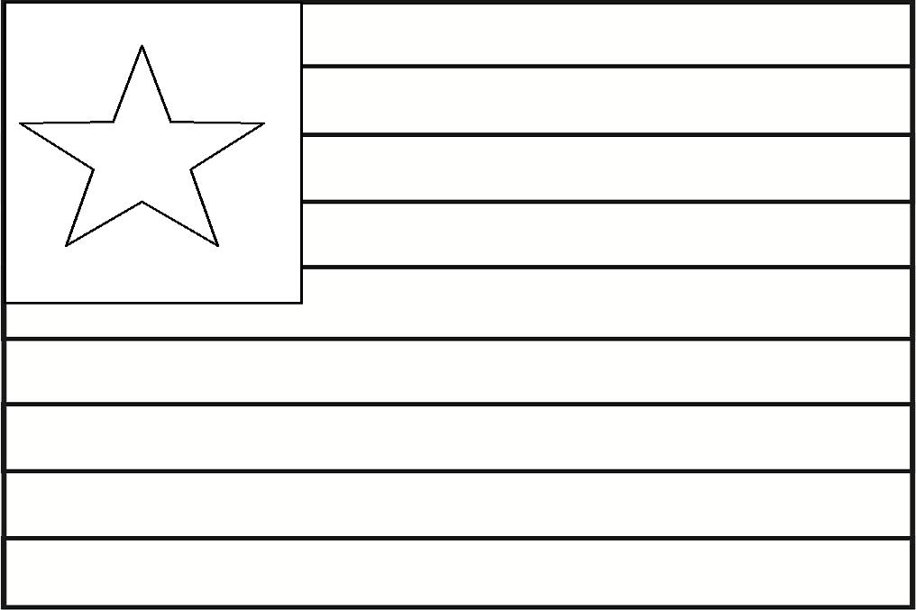 Bandeira do Maranhão para colorir